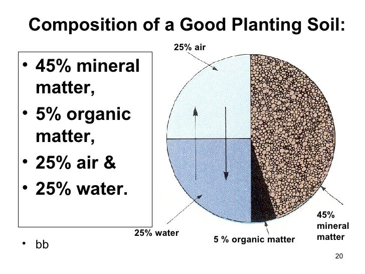Image gallery soil composition for Soil and its formation