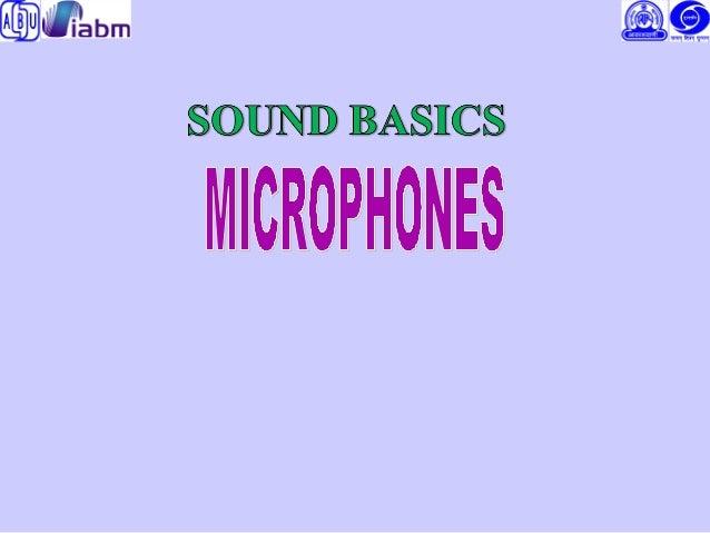 sound basic & microphone