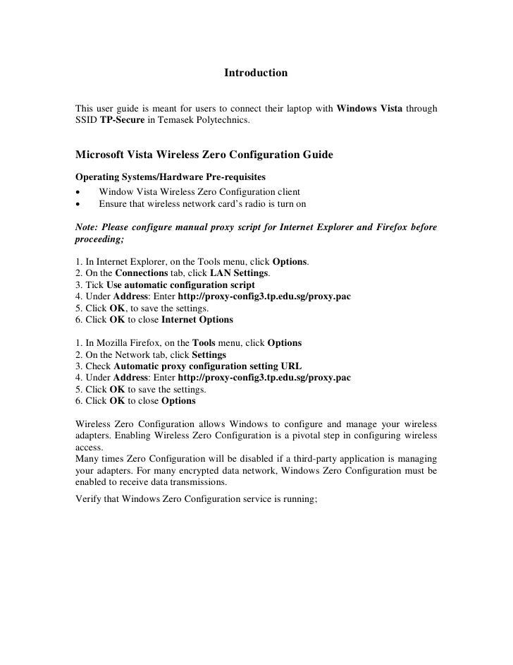 2 Student Windows Vista Tp Secure Guide