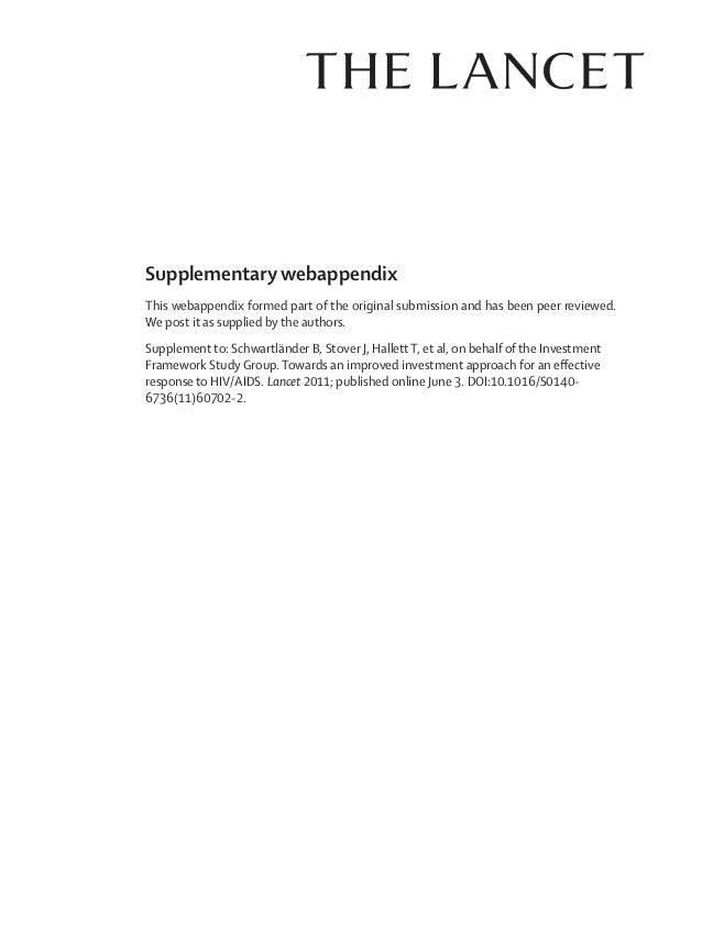 Supplementary webappendixThis webappendix formed part of the original submission and has been peer reviewed.We post it as ...
