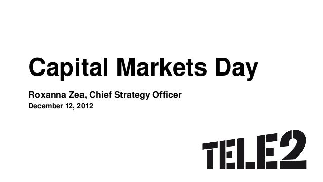 CMD2012 - Roxanna Zea - Tele2's view on the Industry