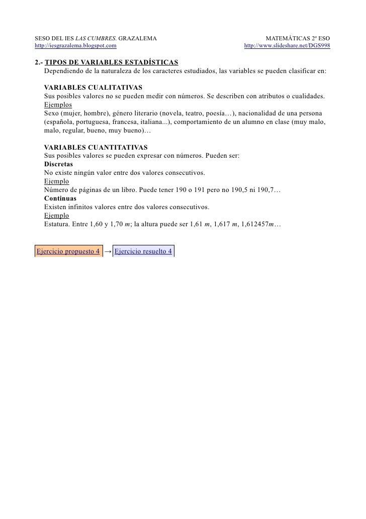 SESO DEL IES LAS CUMBRES. GRAZALEMA                                              MATEMÁTICAS 2º ESOhttp://iesgrazalema.blo...