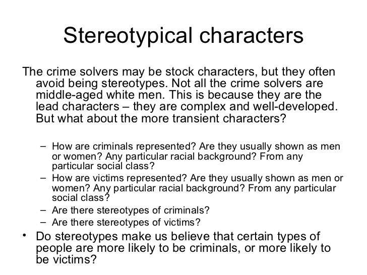 the criminal black stereotypes in detail Ate media priming of racial stereotypes on subsequent criminal judgments of  black males  and suggest directions to explore several factors in greater detail.
