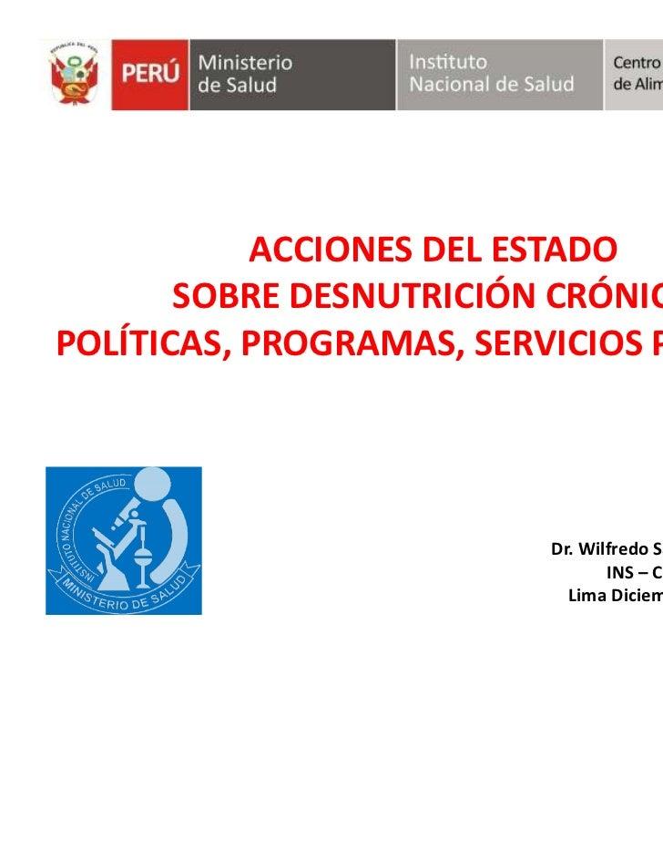 Presentación Wilfredo Salinas  - CENAN