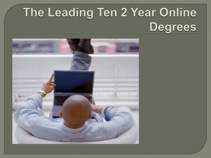 The Essence of Taking Up 2 Year Online Degrees