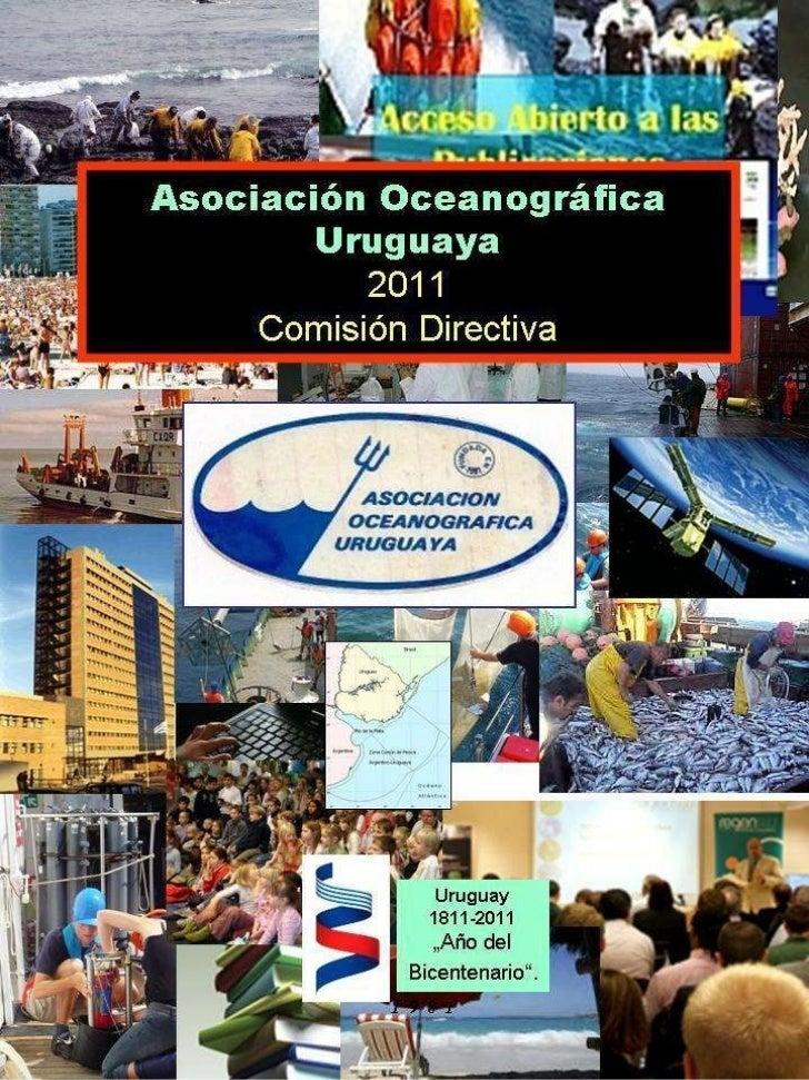Directorio Asociación Oceanográfica Uruguaya