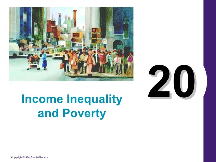 20 Income Inequality and Poverty