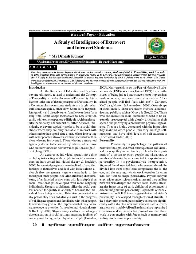 20 International Indexed & Refereed Research Journal, ISSN 0974-2832, (Print), E- ISSN- 2320-5474, Aug-Oct, 2013 ( Combind...
