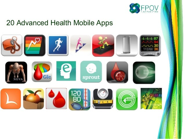 20 Advanced Health Mobile Apps