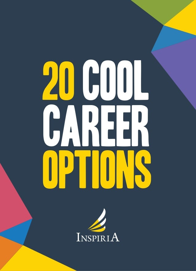 Career options 20cool