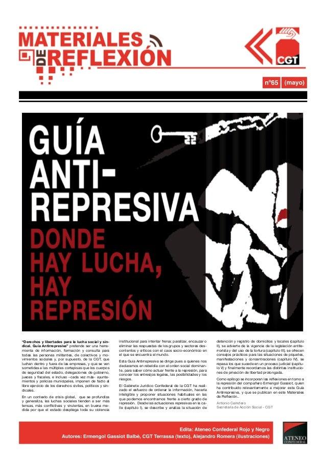 """""""Derechos y libertades para la lucha social y sin-          institucional para intentar frenar, paralizar, encauzar o   de..."""
