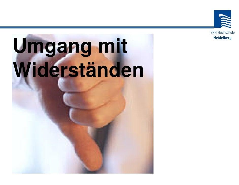 20 - Fh Heidelberg Umgang mit Widerständen