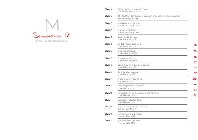 20   lacan - seminario 17