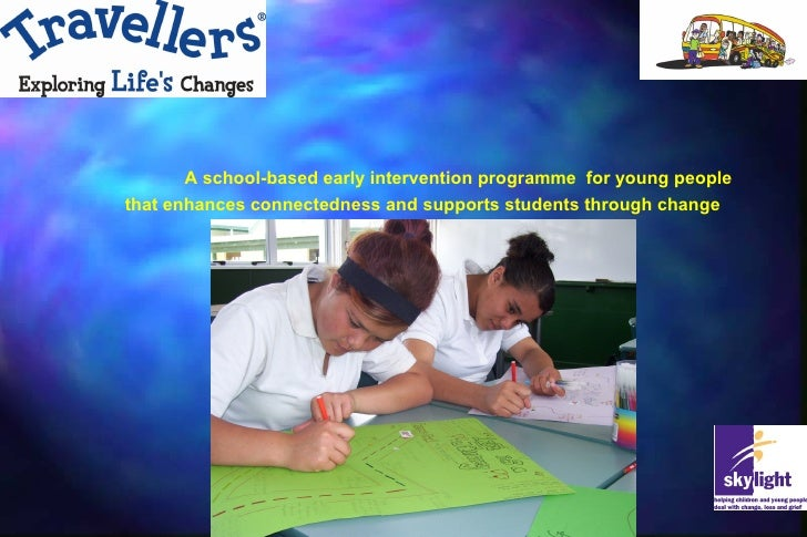 Travellers: A resilience building programme for 1st year secondary students