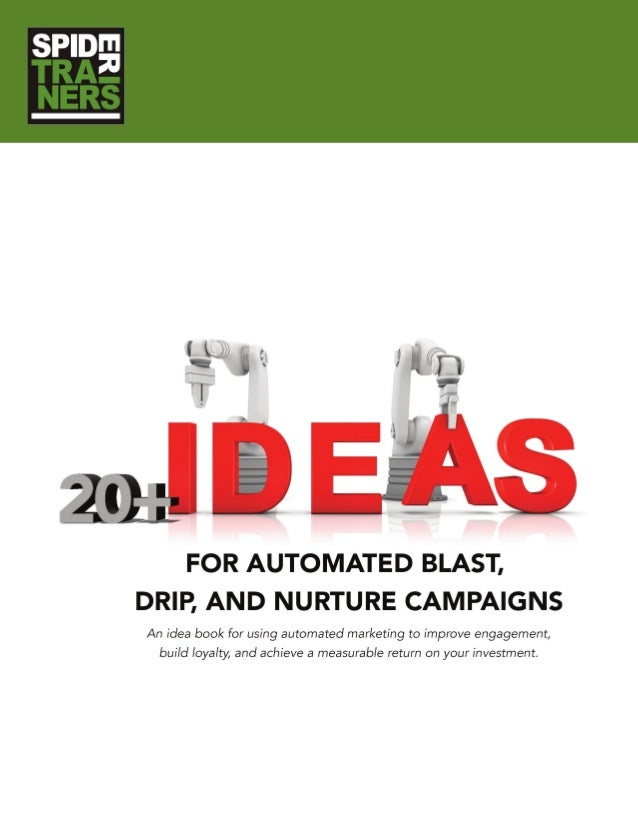 20 Plus Ideas for Automated Marketing Campaigns