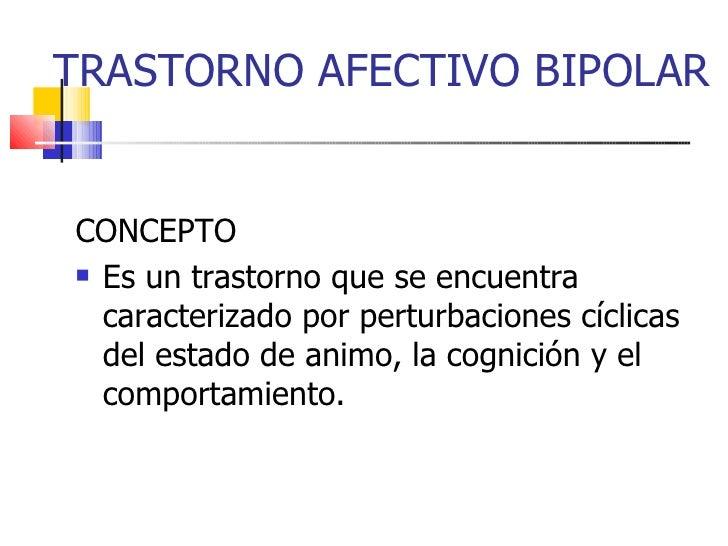 20. trastorno afectivo bipolar.