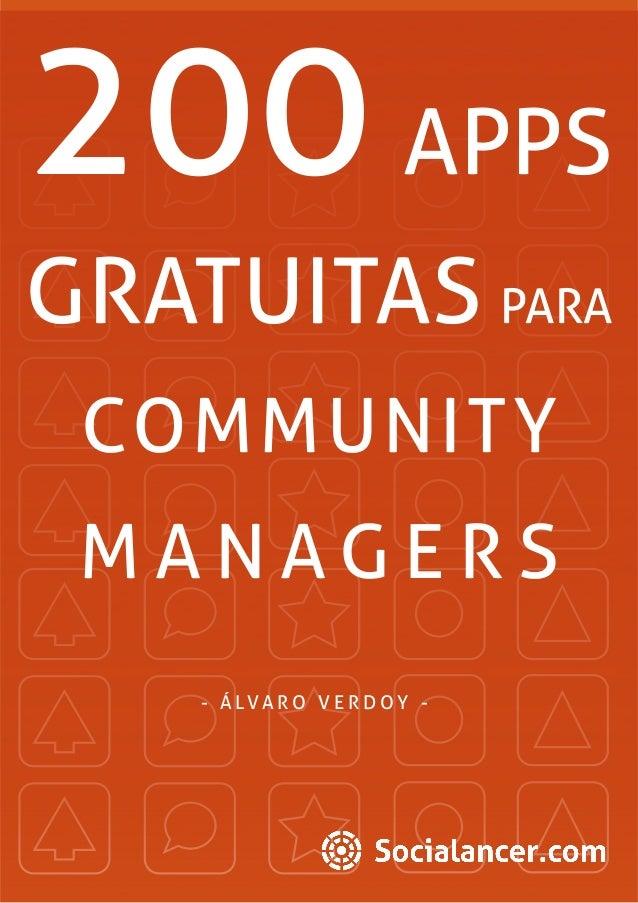200 Apps para un Community Manager