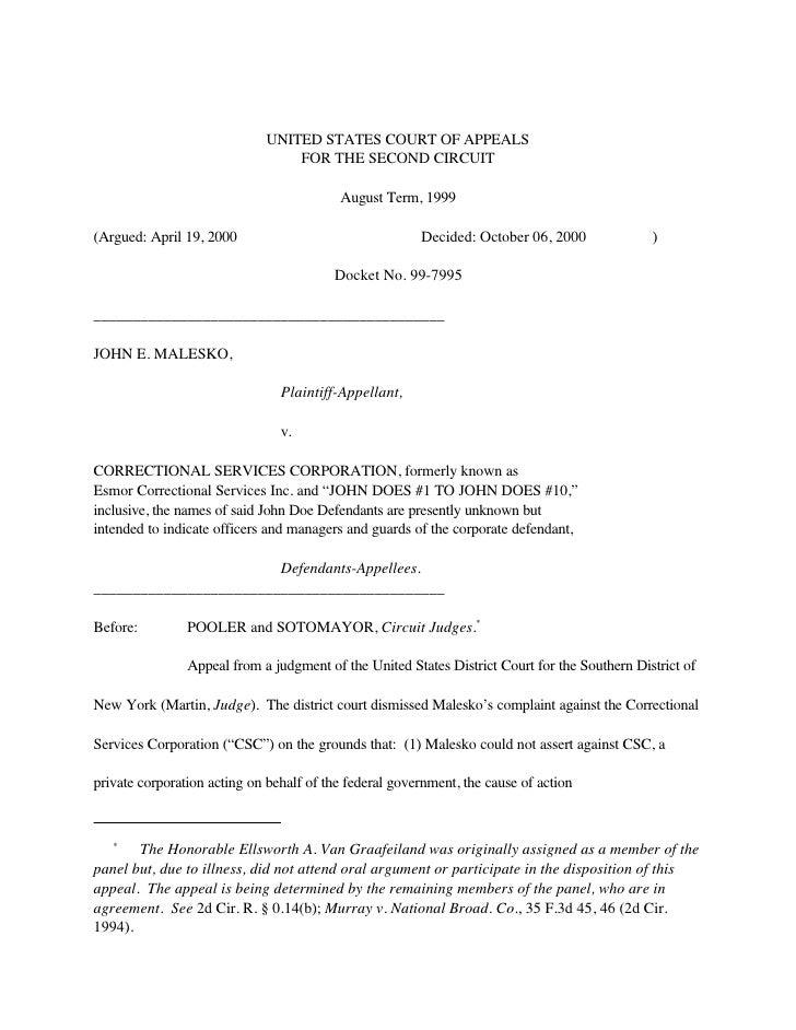UNITED STATES COURT OF APPEALS                                  FOR THE SECOND CIRCUIT                                    ...