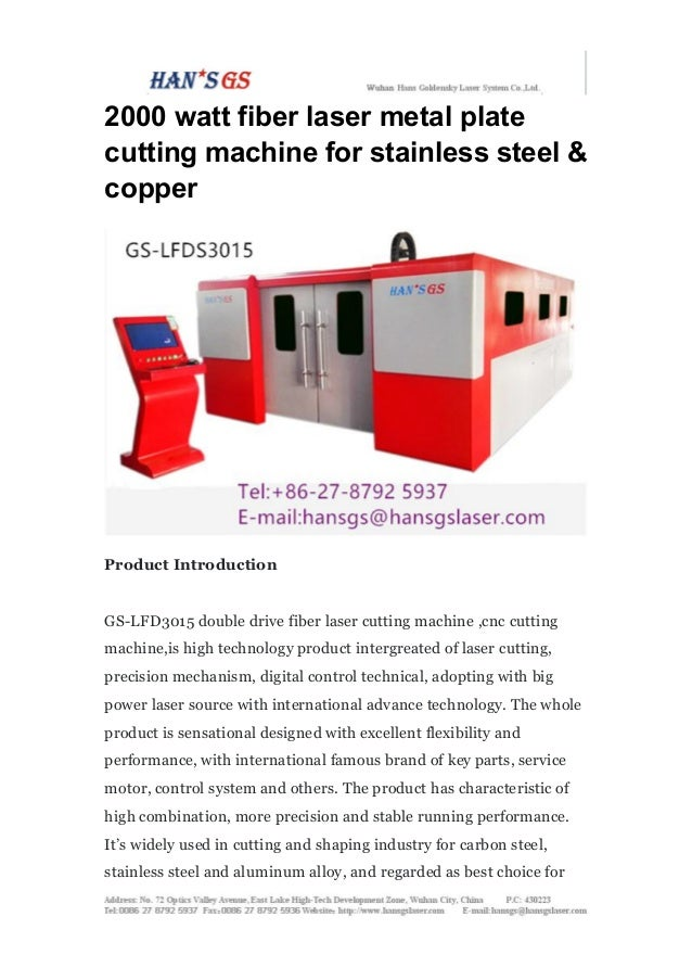 2000 watt fiber laser metal plate cutting machine for for A shear pleasure pet salon