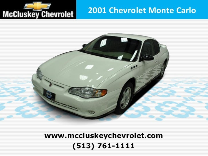 Used 2001 Chevrolet Monte Carlo LS Coupe at your Chevy Cincinnati Ohio Dealer