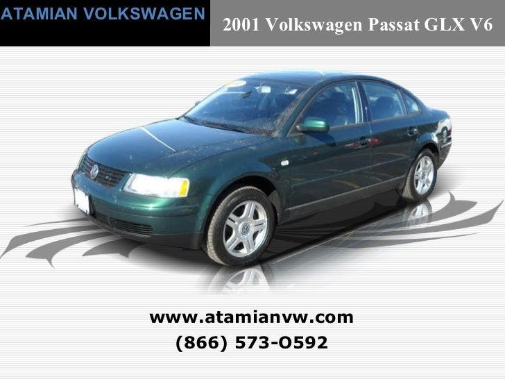 Used 2001 Volkswagen Passat GLX V6 Boston, MA