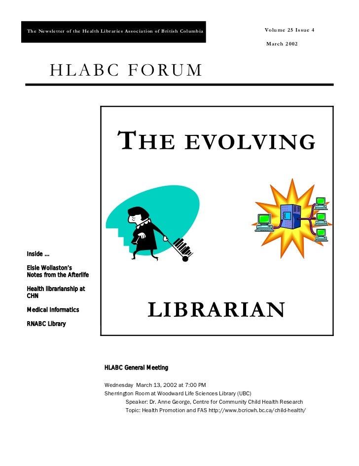 HLABC Forum: March 2002