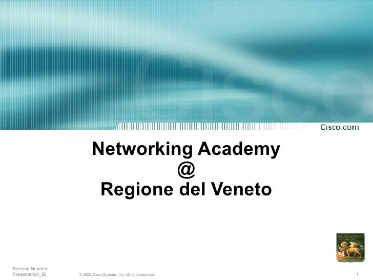 Cisco Networking Academy in Veneto