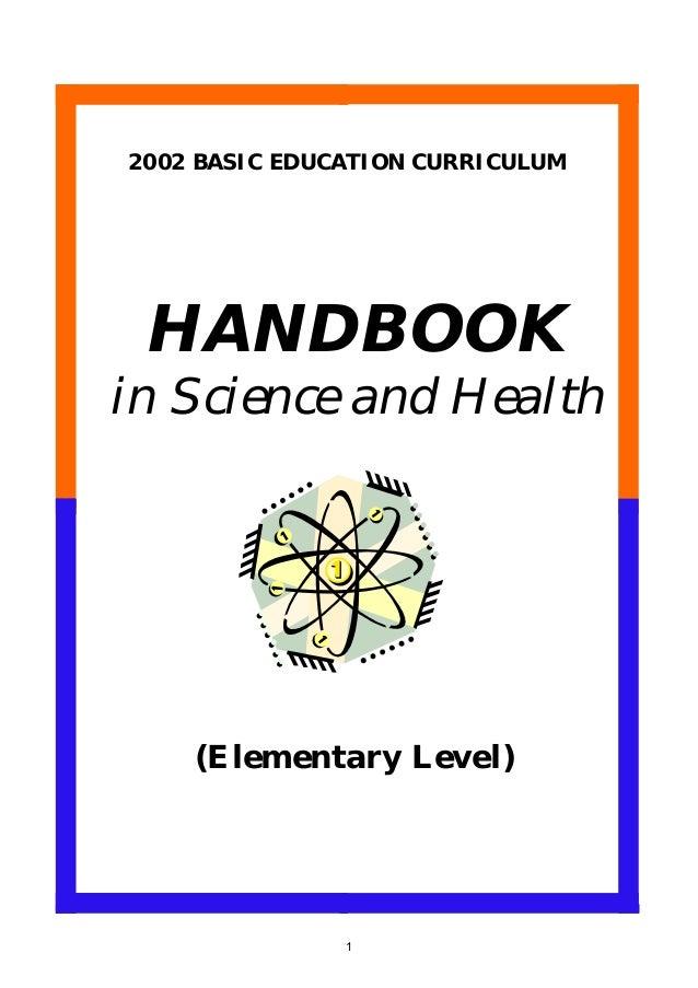 curriculum elementary health