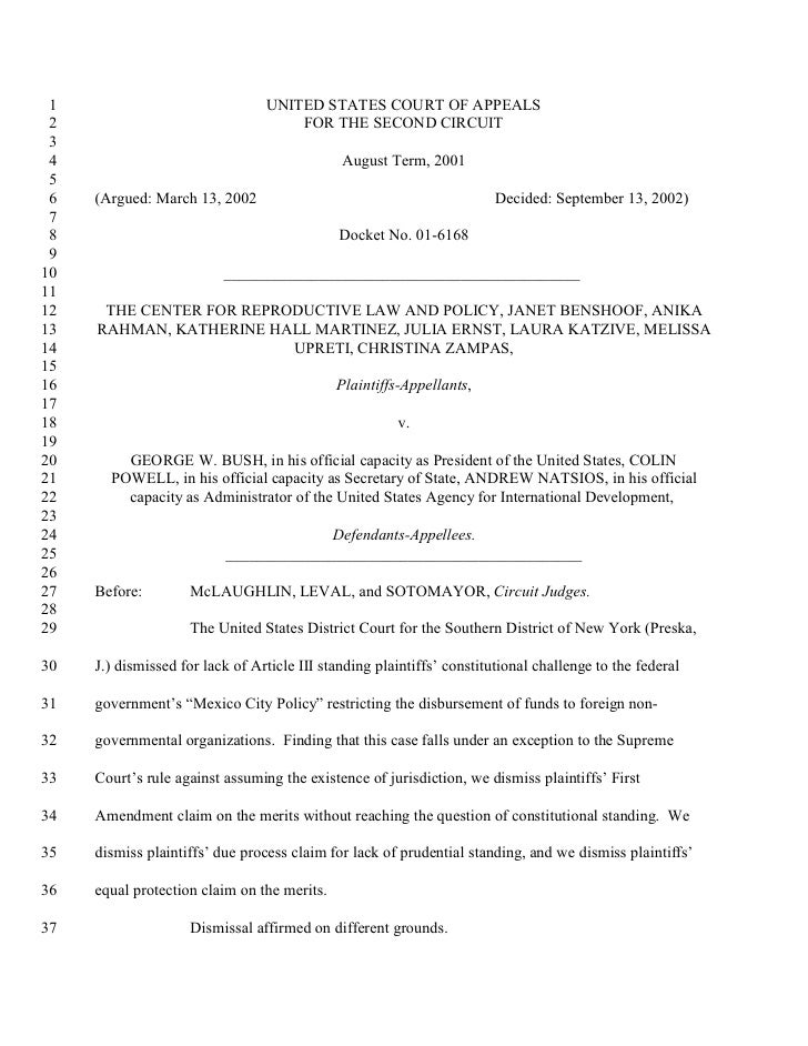 1                               UNITED STATES COURT OF APPEALS  2                                   FOR THE SECOND CIRCUIT...