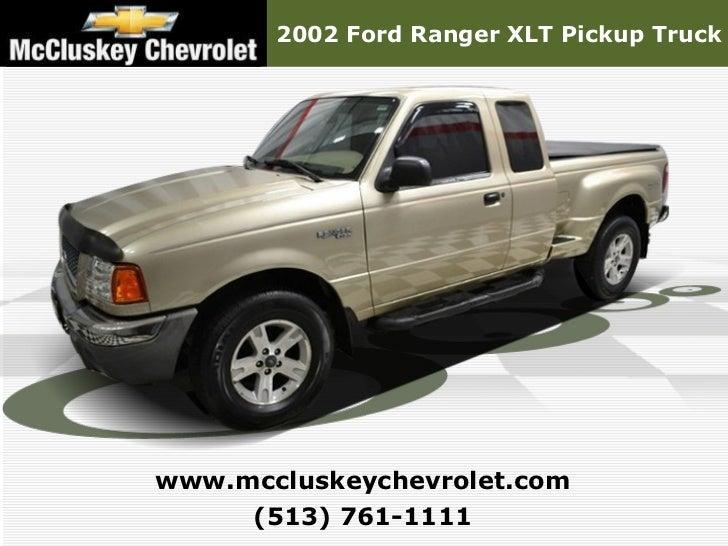 Used 2002 Ford Ranger XLT Pickup Truck - Kings Automall Cincinnati, Ohio