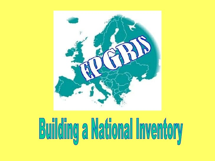Building a National Inventory