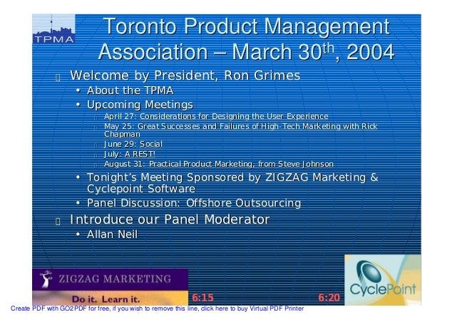 2004 03 tpma - offshore outsourcing