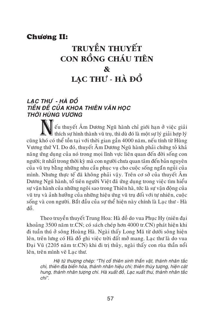 Chöông II:                      TRUYEÀN THUYEÁT                    CON ROÀNG CHAÙU TIEÂN                             &    ...