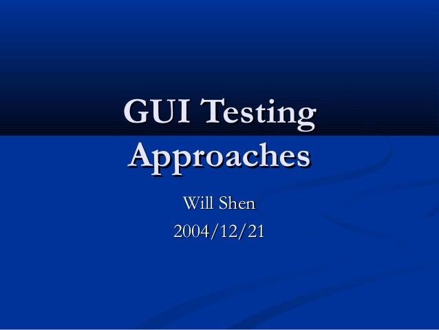 20041221 gui testing survey