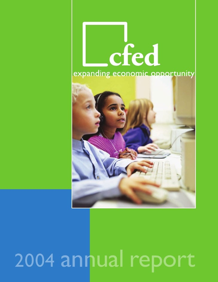 2004 CFED Annual Report