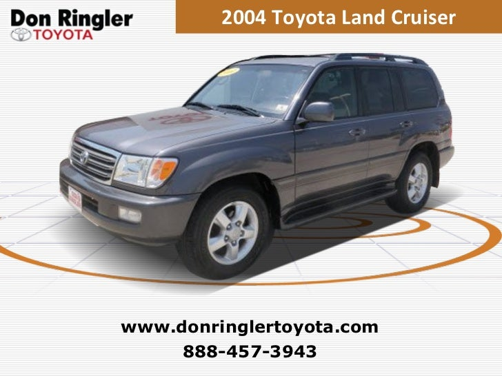 Used 2004 Toyota Land Cruiser at Temple, Austin, Dallas, Houston TX
