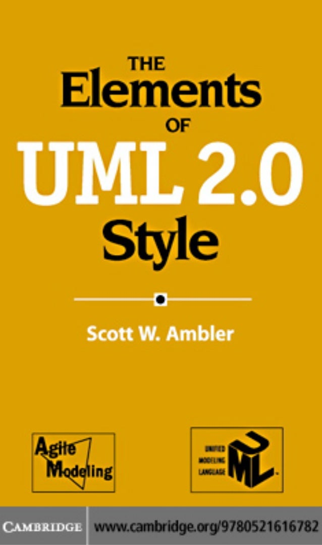 the elements of uml 2 style