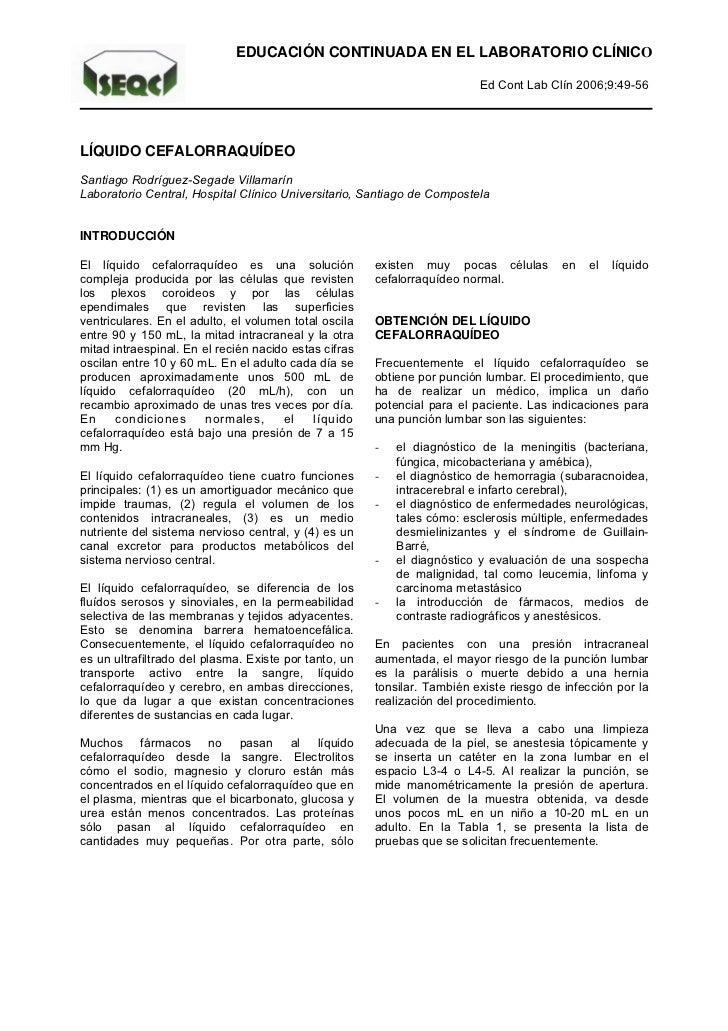 EDUCACIÓN CONTINUADA EN EL LABORATORIO CLÍNICO                                                                          Ed...