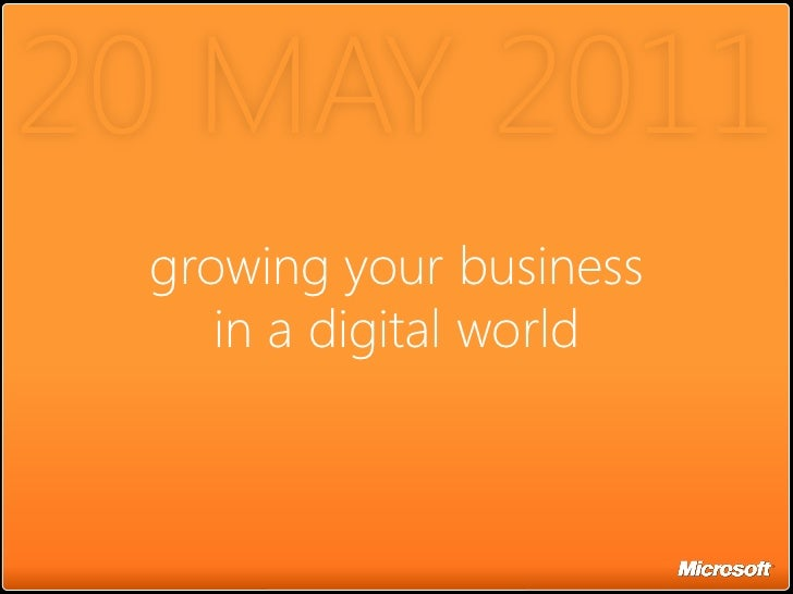 """""""Growing your businessin a digital world"""" to HP SMB Group"""