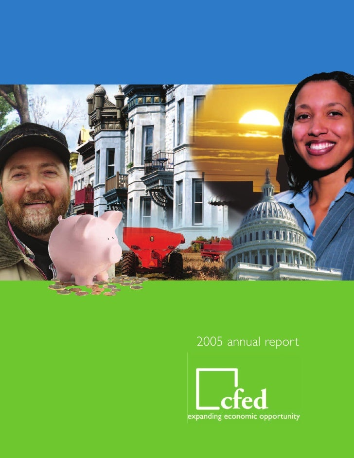 2005 CFED Annual Report