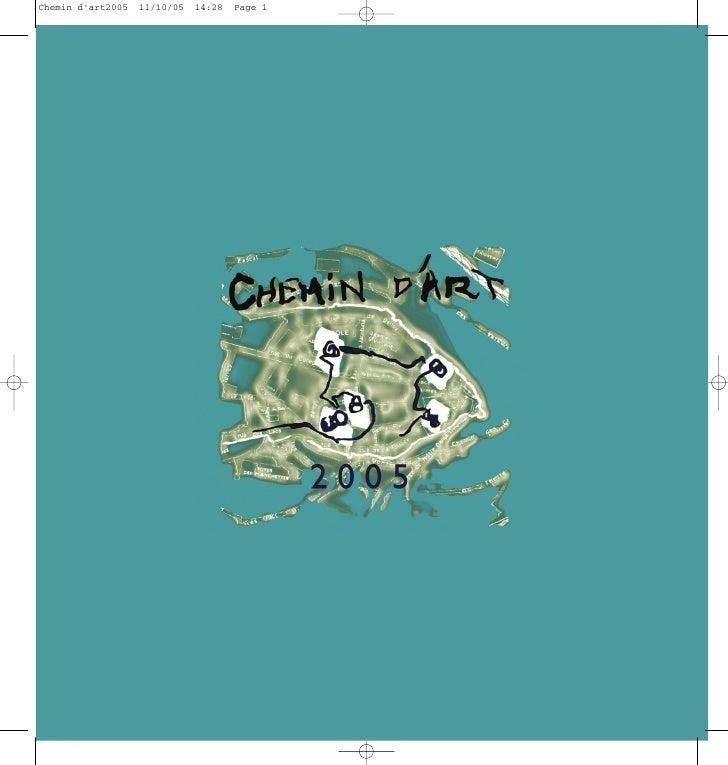 Chemin d'art2005   11/10/05   14:28   Page 1
