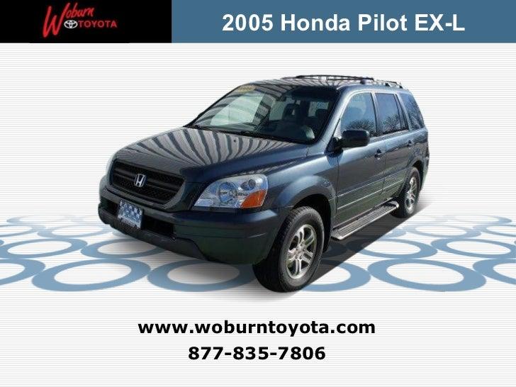 Used 2005 Honda Pilot EX-L - Boston