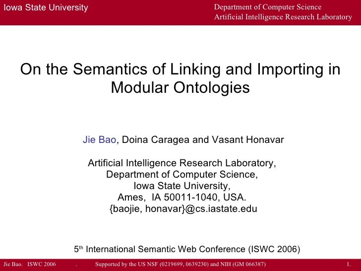 On the Semantics of Linking and Importing in Modular Ontologies