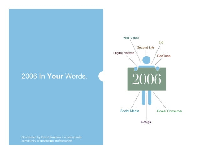 2006 in your words