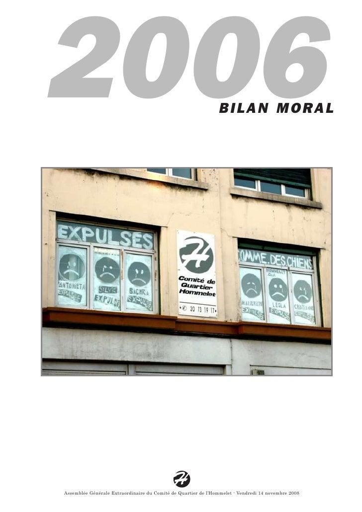 2006                                                           BILAN MORAL                                                ...