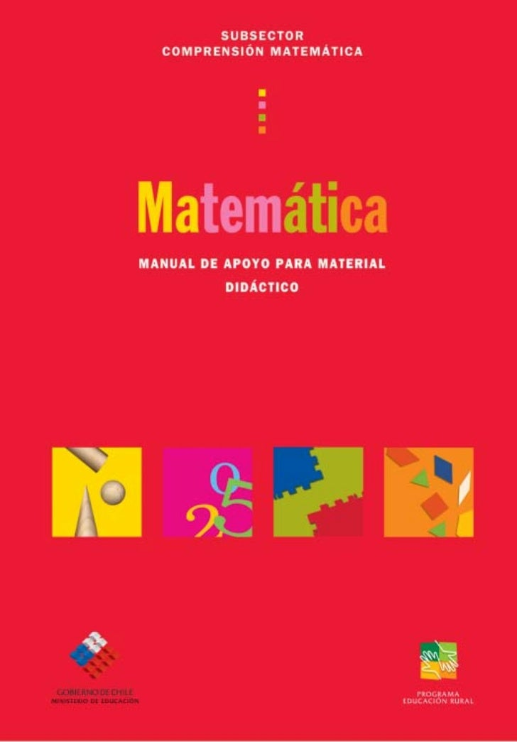 Matemáticas en la EGB: Manual de apoyo para material didáctico