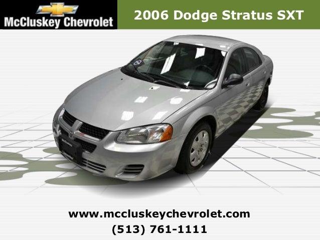 Used 2006 Dodge Stratus SXT- Kings Automall Cincinnati, Ohio