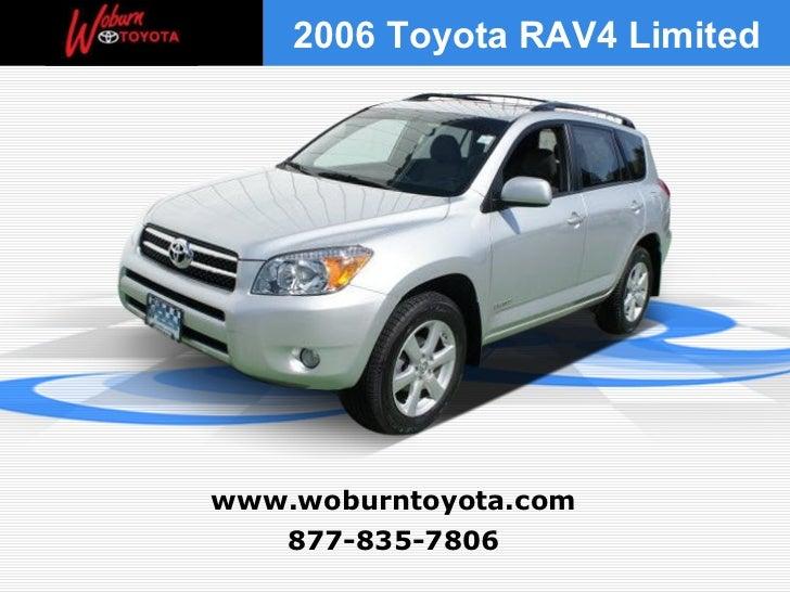 Used 2006 Toyota RAV4 Limited - Boston