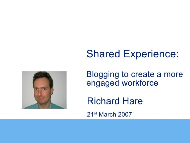 Blogging To Create A More Engaged Workforce