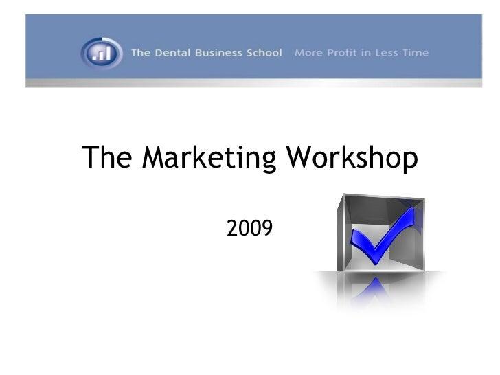 2007   dbs - workshop 4